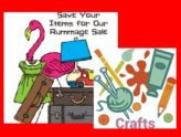 Rummage, Craft & Bake Sale